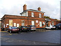 TM3877 : Halesworth Museum at Halesworth Railway Station by Adrian Cable