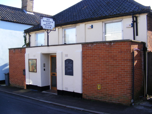 Ex Service & Social Club, Albion Street ,Saxmundham