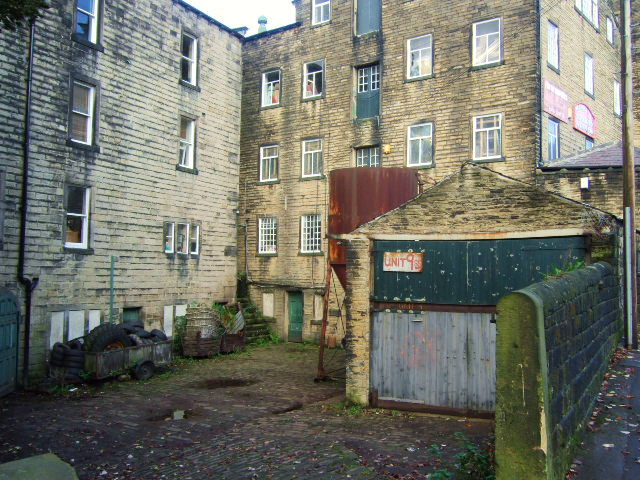 Back of the mill