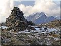 NG5822 : Beinn Dearg Mhor summit cairn : Week 43