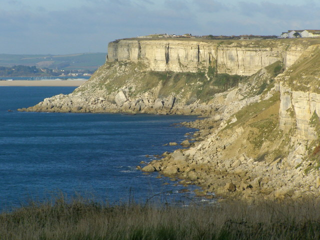 West coast of the Isle of Portland