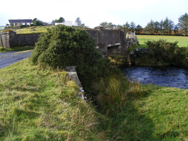 Bridge over Owenator River - Loughagher and Meencorwick Townlands