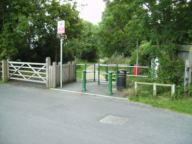 Entrance to Railway Walk