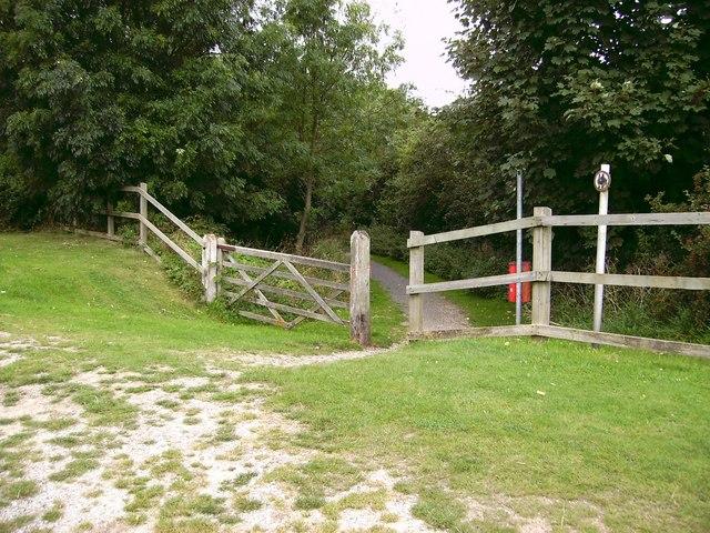 Railway Walk end.