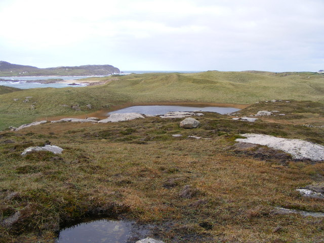 Lough Scalpachore - Cruit Lower Townland