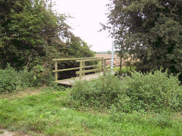 Footpath and bridge