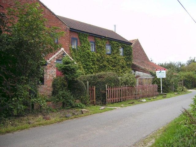 Large modern house, Stewton