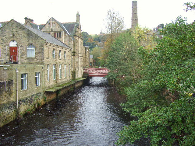 Hebden Water and bridge