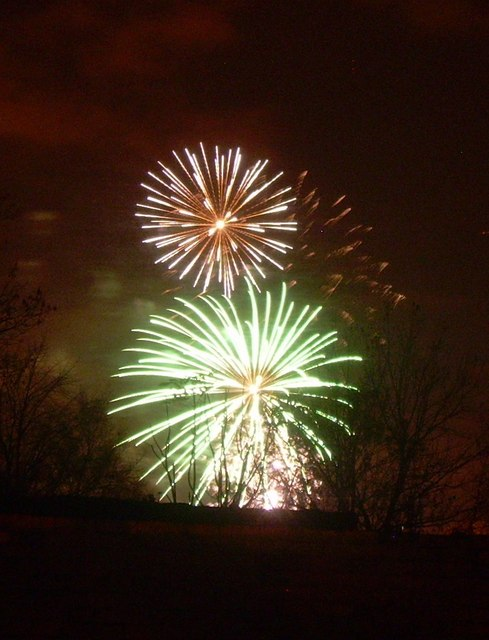 Cherwell firework display
