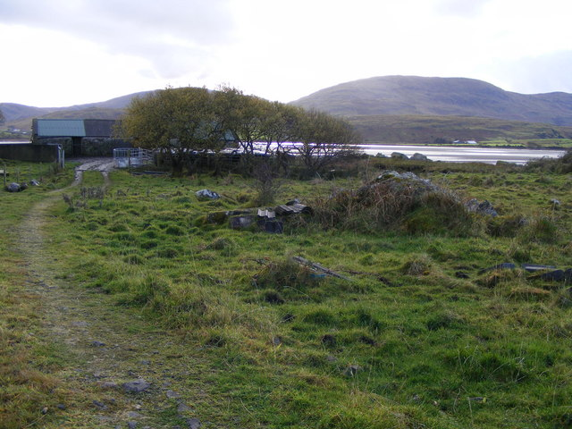 Farm buildings at Ranny Point South, Derryness Townland
