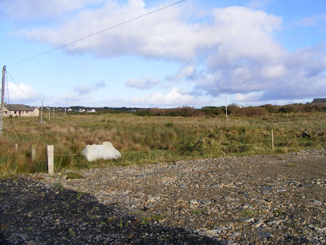 Rough grazing, Sandfield Townland