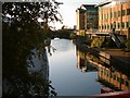 SP0787 : One of Birmingham's many canals. by Graham Taylor