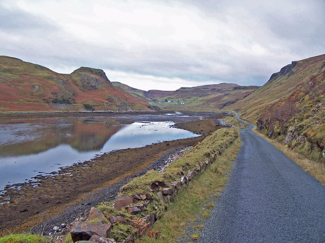 The 'old' road round the loch