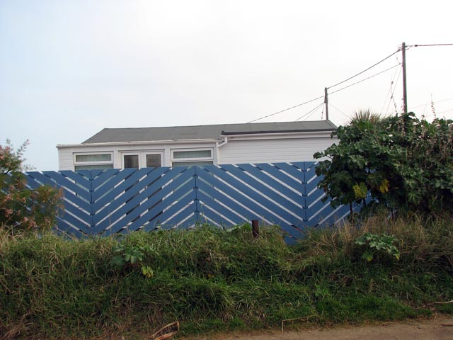 A blue zig zag fence evelyn simak cc by sa