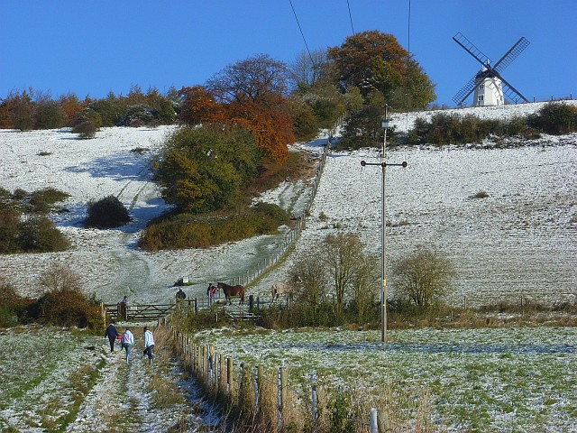 Turville Hill and Windmill