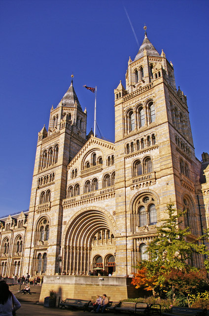 Entrance to Natural History Museum, Cromwell Road, London SW7