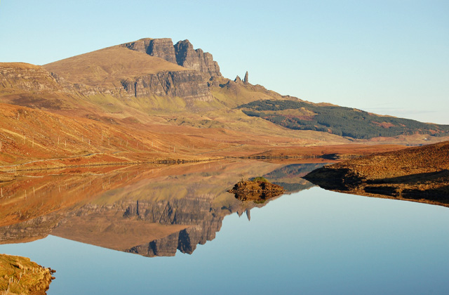 The Storr over Loch Fada