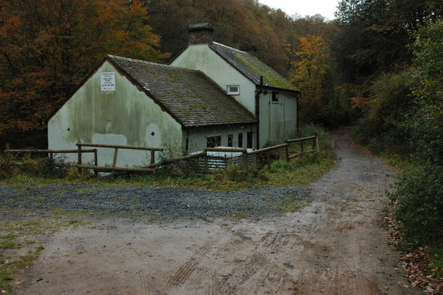 coopers mill cottage wyre forest philip halling