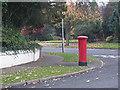 SJ8700 : Pillar box on a street corner by Row17