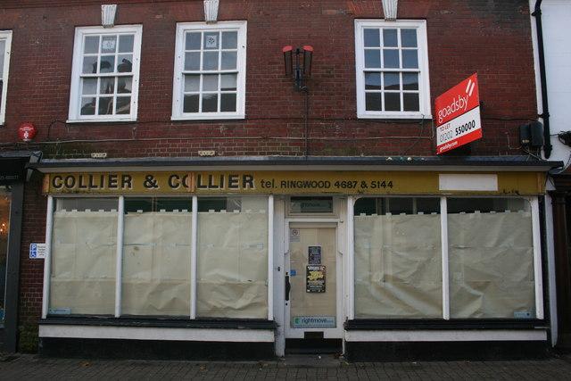 Old Shop Front, Ringwood