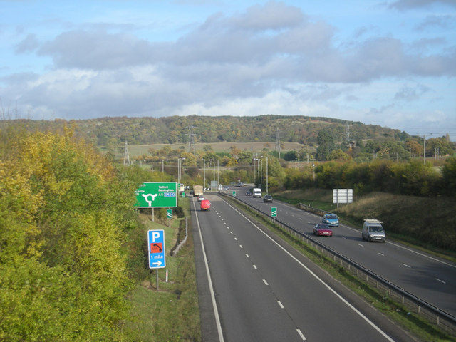 The A5 meets the A49