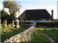 TQ5202 : Wealden Hall House, The Clergy House, The Tye, Alfriston, East Sussex by Oast House Archive