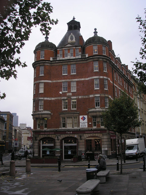 Shoreditch Station: Old Fire Station, Shoreditch © Dr Neil Clifton :: Geograph