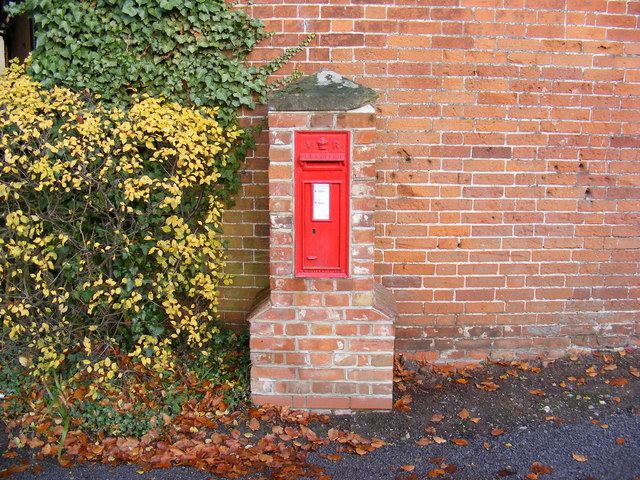 Four Cross Roads Victorian Postbox