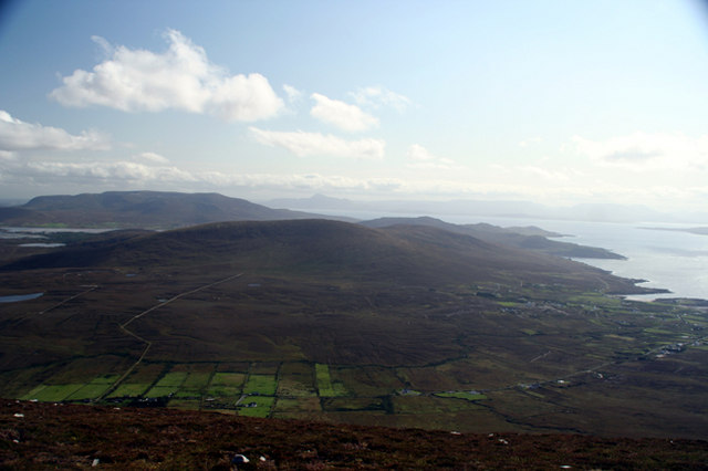 Knockmore from Mweelin