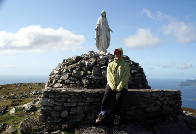 Madonna on the cairn
