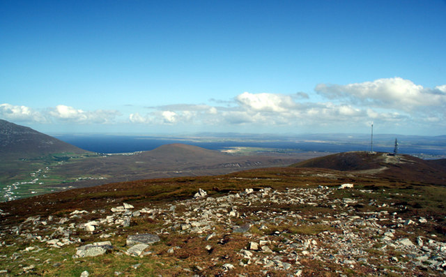 The summit of Mweelin