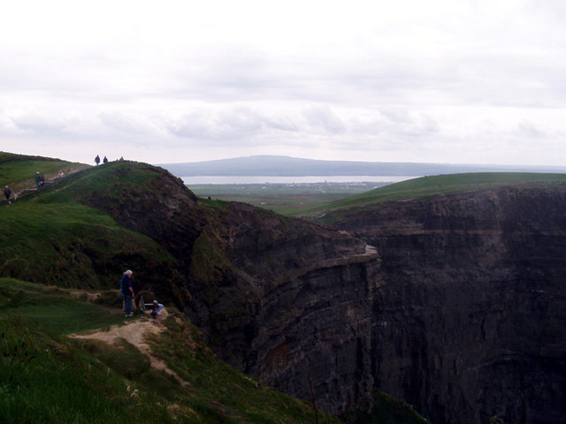Cliffs of Moher from near O'Brien's Tower