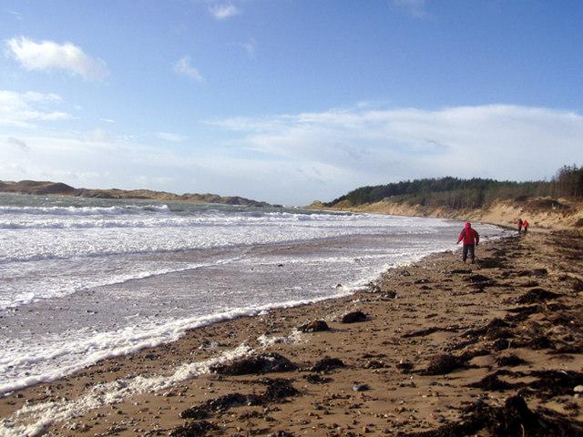 Gale at Newborough Beach