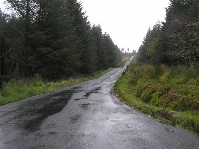 Road at Tullydish Upper