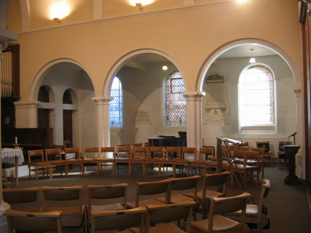 Interior of St Thomas's church