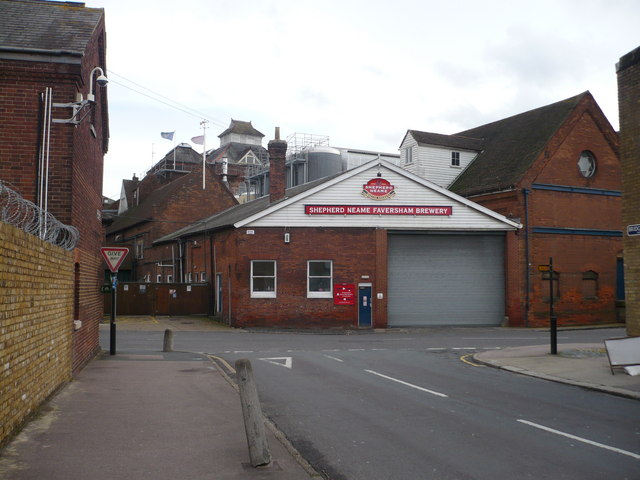 Shepherd Neame Brewery in North Lane