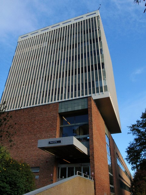 Physics Building Exeter University