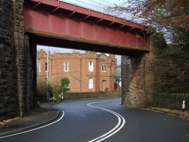 Wemyss Bay railway bridge