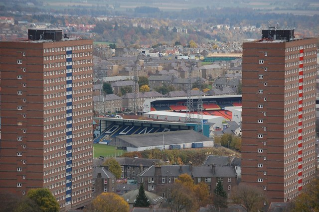 Flats and football grounds