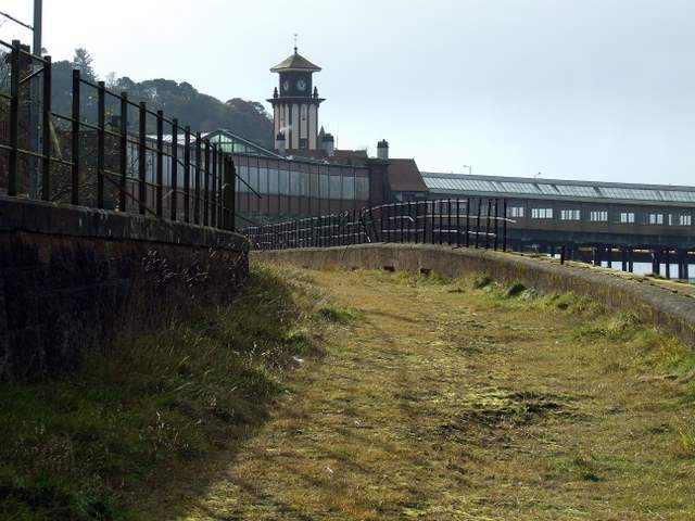 Former Wemyss Bay station goods yard