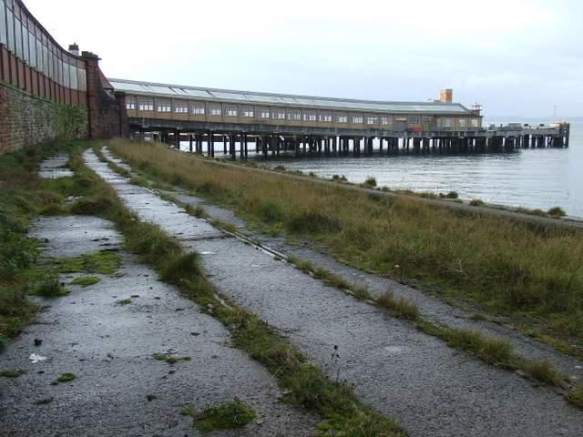 Former Wemyss Bay station goods yard