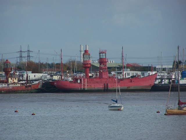 Lightship at Port Werburgh