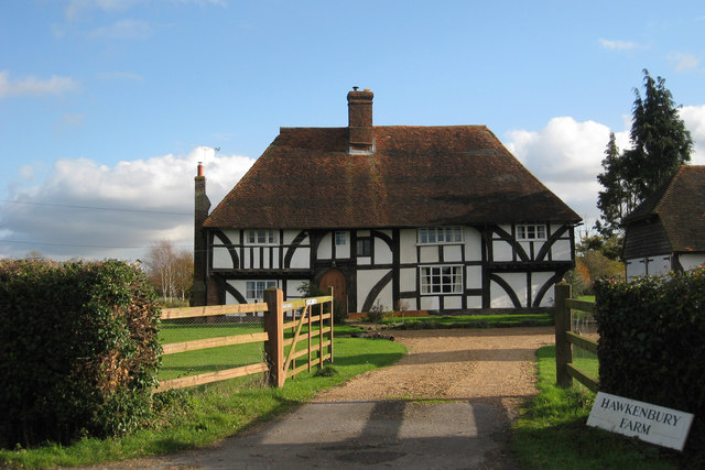 Wealden Hall House, Hawkenbury Farm, Hawkenbury Road, Hawkenbury, Kent