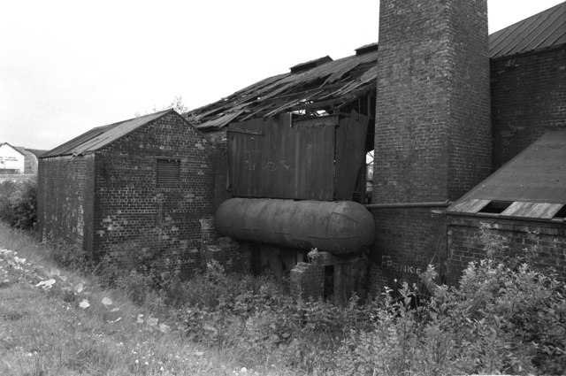 Thomas Hudson, Sheepford Boiler Works - old boiler