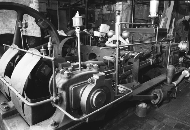 Steam engine, B North, Piddington