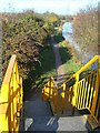 SK5600 : Steps down to the towpath by Mat Fascione