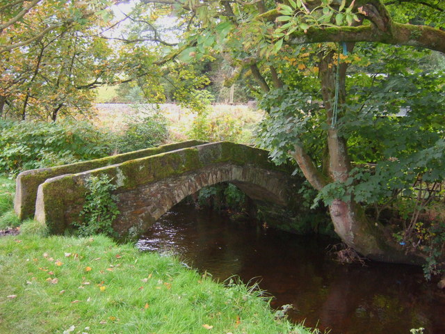Stone footbridge