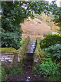 SE0335 : Stone footbridge by John Poyser