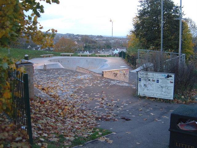 Chepstow - Piggy's Hill Skate Park