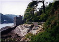 SX8950 : Kingswear Castle, Dartmouth by Peter Barr